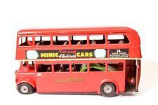 Vintage Triang Minic London Transport Double Decker Bus Putney/Kings Cross