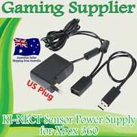 USB AC Power Supply Adapter Cable For Microsoft Xbox 360 Kinect Camera Sensor