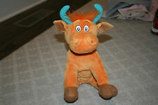 "Kohl's Cares Stuffed Plush 11"" Dr. Seuss Mr. Brown Can Moo Can You Cow Bull"