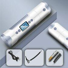 Tire Pump 12V 150 PSI Inflator Mini Portable Electric Gauge USB LED Light Car