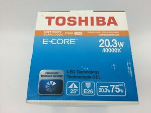 Toshiba 20P38/840NFL25 Dimmable LED Bulb 20W PAR38 75W Equal 40,000 Hrs Life (1)