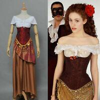 The Phantom of the Opera Christine Daae Dress Costume Outfits Halloween Party