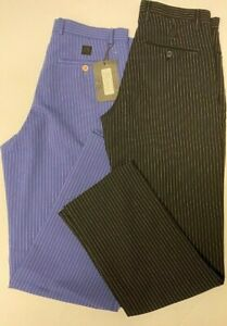 Men's Pinstripe Trousers By Jet Jeans Casual Work