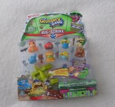 New The Grossery Gang Bug Strike Gift Bundle Pack of 10 Figure Play Set 2 Hidden