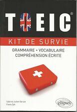 TOEIC Kit de Survie – Sabrina Garzon & Flavia Zah - Anglais Grammaire Vocab