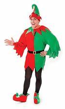 Unisex Uomo Donna Natale Natale elfo Babbo Natale Aiutante Costume Festa Costume