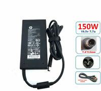 Original Slim HP 150w AC Adapter HSTNN-CA27 for HP EliteBook 8560w,8730w,8740w