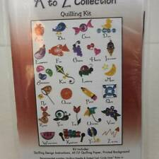 Quilling Creations The Art of Paper Filigree  A to Z Collection 422  NEW