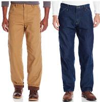 Wrangler Authentics Fleece Lined Carpenter Pant  Men's