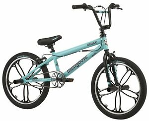 "Mongoose Freestyle BMX Bike Boys 20"" Alloy Wheels Craze  - Teal"