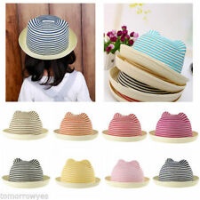 Unbranded Girls' Straw Baby Caps & Hats