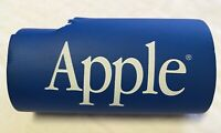 Vintage 1990's Old Apple Computer Logo Piece Of Blue Neoprene Foam