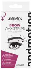 Andmetics Brow Wax Strips 4 Full Brow Treatments