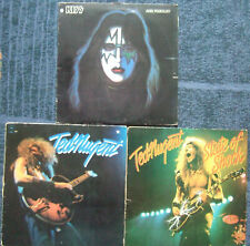 KISS+TED NUGENT... lot lp