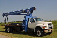 1998 Ford F800 Boom Truck w/Manitex M1768 - 17Ton Crane