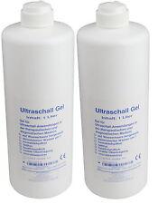 Ultraschallgel 2 x 1000 ml Ultraschall - Gleitgel Kontaktgel Seidel Medizin