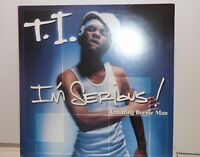 (RARE PROMO) T.I. I'M SERIOUS FIRST SINGLE FEAT. BEENIE MAN 12 VINYL RECORD RAP