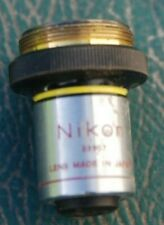 Nixon x10 microscope  objective
