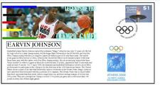 OLYMPIC GAMES LEGENDS COVER, MAGIC JOHNSON BASKETBALL