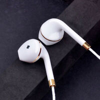 With Mic Super Bass Music In-ear Stereo Headphone Headset Earphone Earbuds 3.5mm