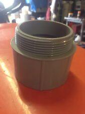 "3"" in PVC Male Conduit Adapter- UL - Cantex 5140110 -"