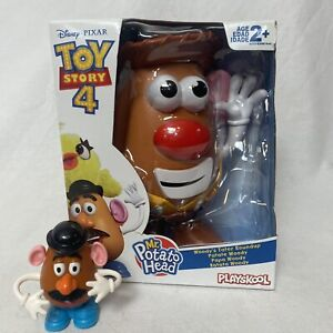 Mr Potato Head Disney Pixar Toy Story 4 Woody's Tater Roundup + Mini 1995 Lot