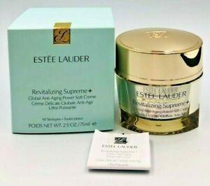 Estee Lauder Revitalizing Supreme+ Global Anti-Aging Power Soft Creme 2.5 oz NIB