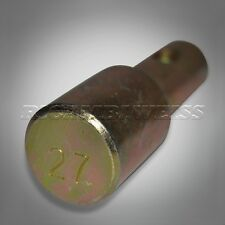 27mm Adapter PIN Lenkkopf Montageständer Motorrad vorne Lenkkopfständer neu