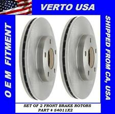 Front Brake Rotors For FORD Mustang 1994-1995-1996-1997-1998-1999-2000 to 2004