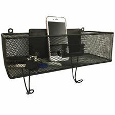 Wall Mount Mail Key Rack Storage Shelf Envelope Basket With HookLabel Clip Us