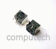 1 pezzo Connettore Mini DIN 6 POLI da saldare per circuito stampato femmina