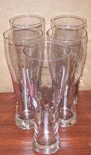 SET OF 5 NEW BEER PUB GLASSES MUGS