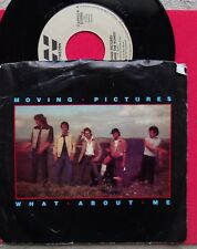 "MOVING PICTURES ""WHAT ABOUT ME""  BW ""JONI AND THE ROMEOS""  1982  NM P/S 45RPM"