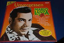 """12"""" MARIO LANZA LP """"Unvergessen (unforgotten)"""" German RCA PL 43200 (rel. 1980)"""
