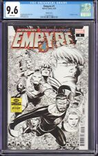 Empyre #1 (Marvel Comics, 2020) CGC 9.6 Sketch Cover [Comeback Cover]