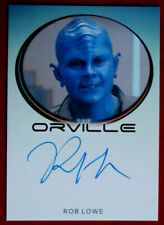 THE ORVILLE - ROB LOWE - Darulio - Personally Signed Autograph Card - 2018