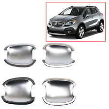 Chrome Door Handle Cavity Bowl Cup Trim Insert Vauxhall For Buick Encore 13-14