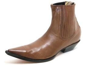 122 Cowboystiefel Westernstiefel Boots Stiefelette Leder Catalan Style Jaca 48