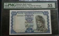 MALAYSIA 4TH RM50 B/84 488481 PMG55 AUNC