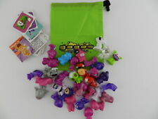 Mixed Lot  GoGo Crazy Bones Lot with Green Carrying Bag Stickers