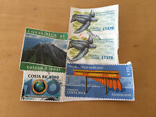 Used - 5 Letter STAMPS  5 SELLOS de carta  COSTA RICA - Usados