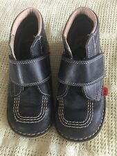 Boys Blue Kickers Boots, Size 29
