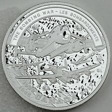 2017 $20 Second World War Battlefront: The Bombing War 1 oz. Pure Silver Proof