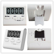 Magnetic LCD Digital Kitchen Cooking Timer Reminder Count-Down Up Clock Alarm
