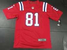 NWT Aaron Hernandez #81 New England Patriots Game All Sewn Jersey Throwback