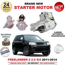 FÜR LAND ROVER FREELANDER II 2.0 Si4 4X4 ANLASSER 2011-2014 AUTO 6-GANG