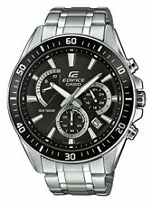 Casio Edifice Stainless Steel Strap Black Dial Mens Watch EFR-552D-1AVUEF £200