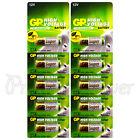10 x GP 23A Alkaline Super batteries 12V MN21 A23 E23A V23GA 3LR50 LRV08 VR22