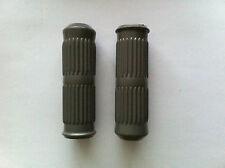 lambretta handlebar grips grey series 3 Li 125 150 CASA