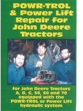 John Deere Tractor Power Powr Trol Repair A B G 50 60 70 Dvd